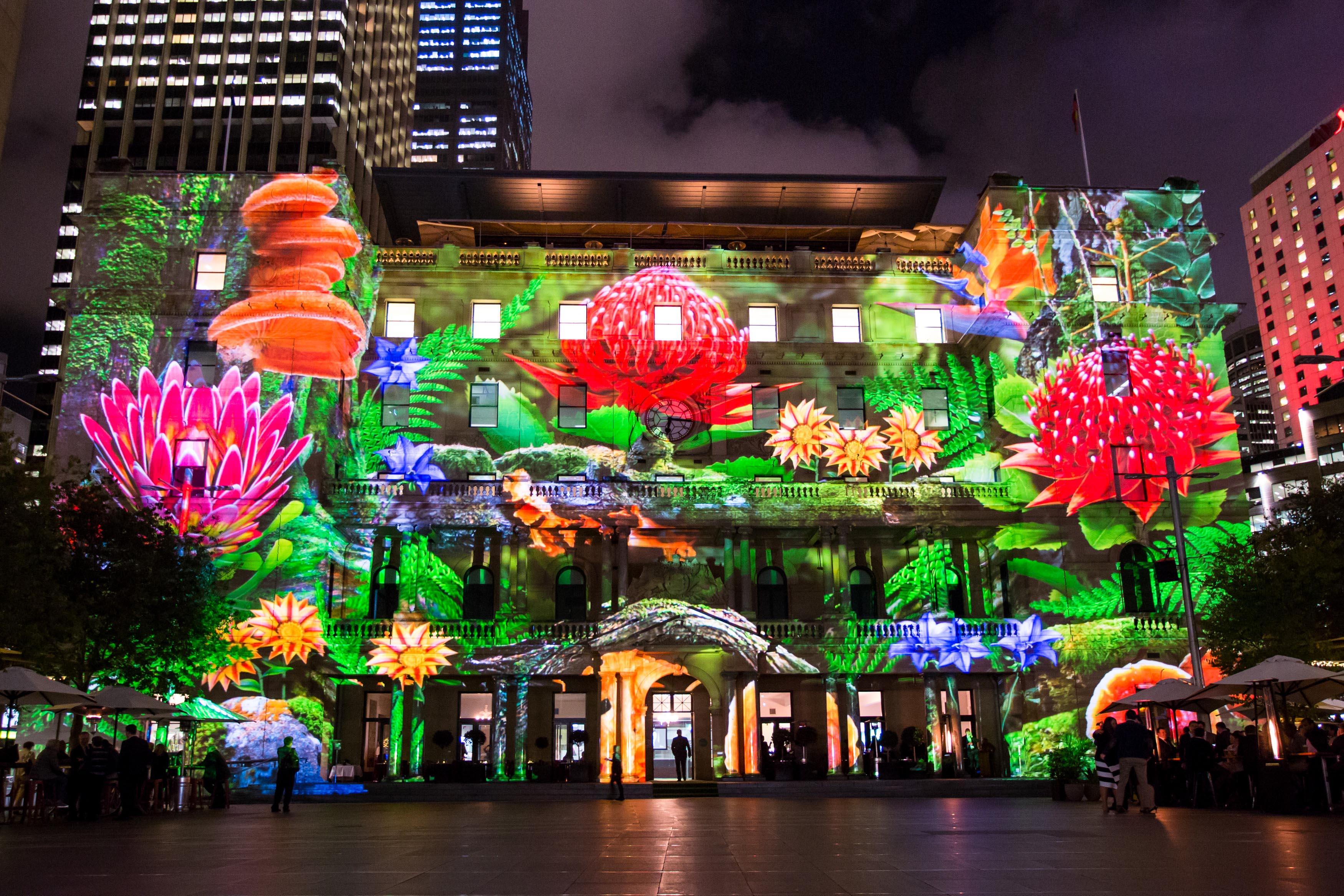 Lighting Basement Washroom Stairs: Vivid Sydney Lights Up For 2015
