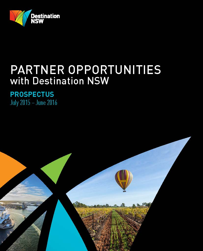 Partnership Opportunities with DNSW Prospectus cover 2015-16