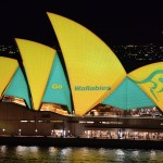Hop to it! Sydney cheers on the Wallabies at the Sydney Opera House_2433