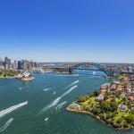 Sydney Harbour aerial. Credit: Destination NSW.