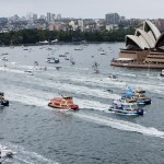 Australia Day Ferrython on Sydney Harbour - Photo Credit: Benjamin Townsend