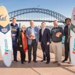 College Football stars from the University of California Golden Bears and the University of Hawaii Rainbow Warriors have landed in Sydney ahead of Saturday's historic College Football Sydney Cup at ANZ Stadium.