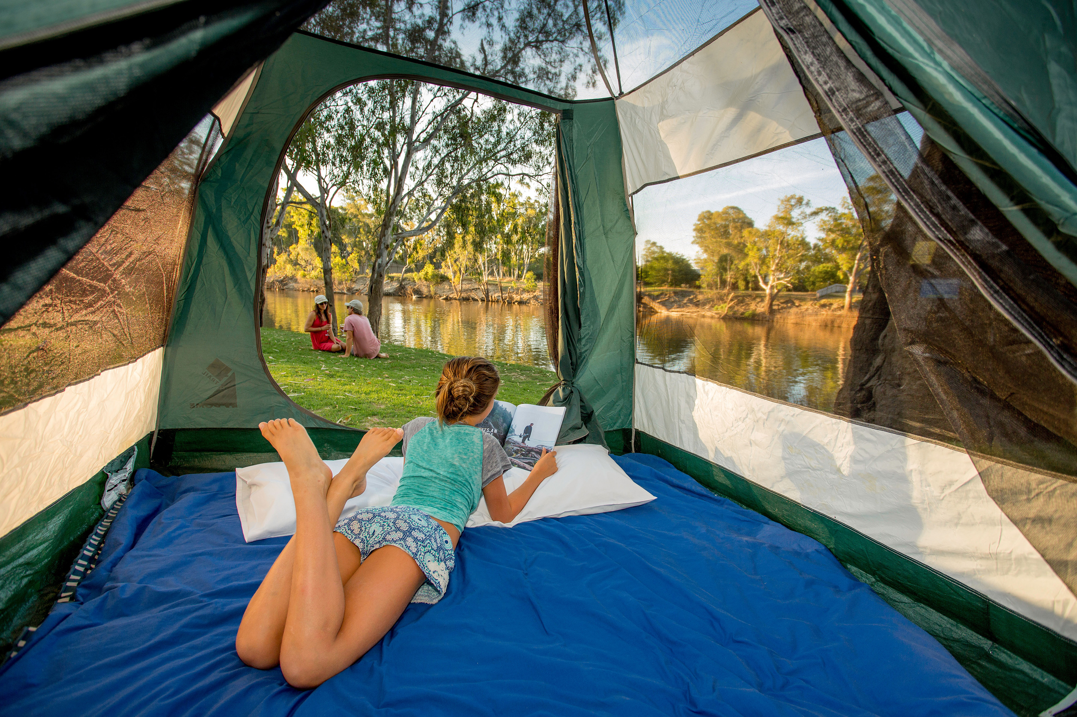 News u0026 Media & More families are choosing NSW for a camping holiday | Destination NSW